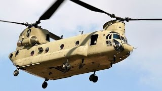 6. POWERFUL !!! US Military Chinook and Black hawk Military Transport Helicopters