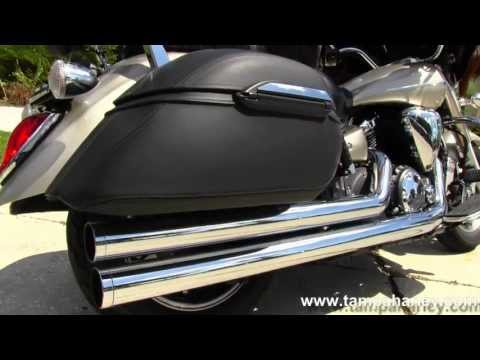 Used 2008 Yamaha Motorcycle V-Star 1300 for Sale In Florida USA