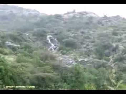 شلالات جبال تنومة بعد المطر(ولد تنومة)