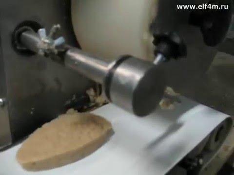 """Видео: Автомат котлетный ИПКС-123(Н). Испытания барабана формы """"Яйцо""""."""