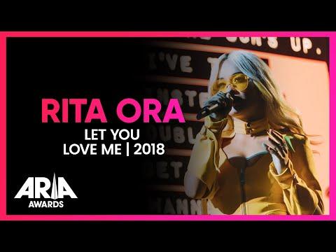 Rita Ora Let You Love Me  2018 ARIA Awards