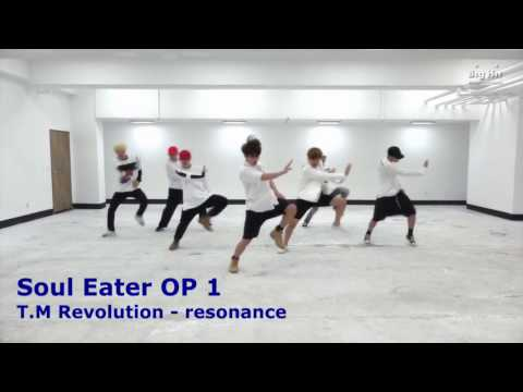 BTS - FIRE CHOREO WORKS WITH 22 ANIME OPENINGS [PART 1]