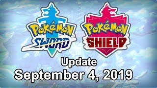 Pokemon Sword and Shield Update - September 4, 2019 by Tyranitar Tube