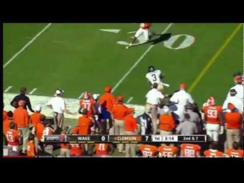 Michael Campanaro vs Clemson 2011 video.