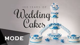 From to the understated all-white elegance of the 1920s to the gaudy, sprawling creations of the 1980s, wedding cake fashions have certainly changed throughout the years. http://mode.com/mode-videoCakes designed by Gabrielle Feuersinger: http://www.cakecoquette.com/For more videos like this, visit us on MODE: http://www.mode.com/mode-video Follow us on Twitter: http://twitter.com/modestoriesFriend us on Facebook: https://www.facebook.com/modestoriesCheck us out on Instagram: http://instagram.com/modestoriesGet inspired on Pinterest: http://www.pinterest.com/modestoriesAdd us to your circle on Google+: http://bit.ly/glam-googleplus