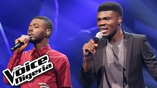Obed Ogbonna vs David Operah singing 'Stay with Me' / The Voice Nigeria 2016
