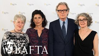 Actor Bill Nighy, producer Amanda Posey, screenwriter Gaby Chiappe and author of the novel 'Their Finest Hour and a Half' Lissa Evans discuss the making of Their Finest at the film's Welsh Premiere, held at the Royal College of Music & Drama and hosted by BAFTA Cymru, Wales Screen and Pinewood Pictures.The production shot on location in Wales with support from Wales Screen and received funding from Pinewood Group and the Welsh Government Media Investment Budget.subscribe to BAFTA ⏩ https://youtube.com/user/BAFTAonlinecheck out BAFTA Guru ⏩ https://youtube.com/user/BAFTAGuru⏬  stay up to date ⏬ Twitter: @BAFTA: https://twitter.com/BAFTA @BAFTAGuru: https://twitter.com/BAFTAGuru @BAFTAGames: https://twitter.com/BAFTAGames Facebook: https://www.facebook.com/baftaInstagram: http://instagram.com/baftasign up for our newsletter: http://guru.bafta.org/newsletter subscribe to our podcasts:iTunes: http://bit.ly/Vz84HI Soundcloud: https://soundcloud.com/baftavisit our websites to find out more:http://www.bafta.org/guruhttp://www.bafta.org