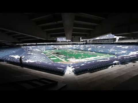 The Vacant Pontiac Silverdome 2014
