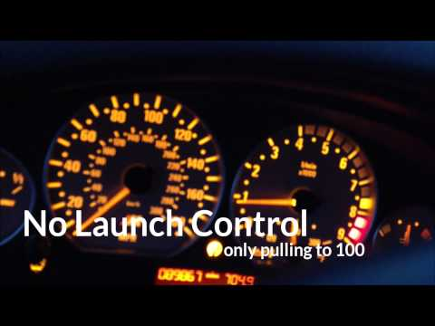 2004 BMW M3 e46 Launch Control 0-60 0-100 0-145