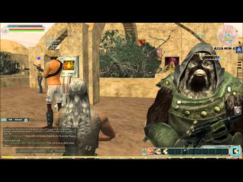 My Gameplay – Star Wars Galaxies 2011 [ part 2 ] – Bartas – New toon / Tatooine footage
