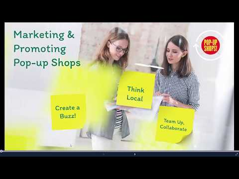 Pop-Up Toolkit Module: Marketing And Promotion
