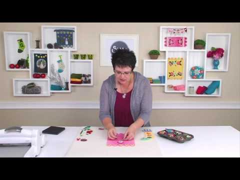 From the Sizzix Quilting Workshop: Posy Pads with Roseann Meehan Kermes