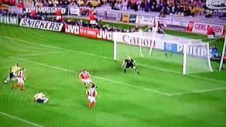 Brian Laudrups Tor(jubel) gegen Brasilien