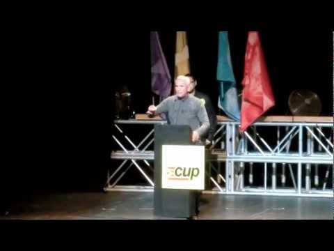 jcccam - Intervenci de Diego Caamero (Sindicato Andaluz de Trabajadores) a l'acte central de la CUP-Alternativa d'esquerres del diumenge 18 de novembre de 2012 al B...