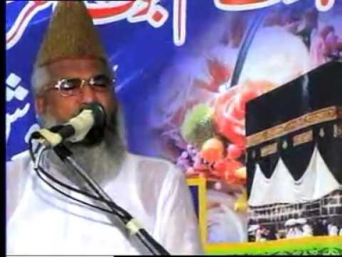 maulana ahmed ludhianvi - maulana ahmed ludhianvi khatm e nabuwat conference with mulana ehsanullah farooqi of sialkot.