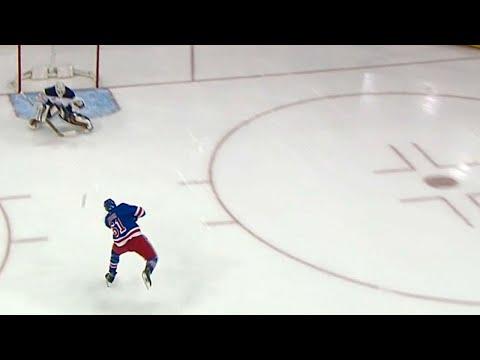 Video: Rangers on the board as Nash beats Lehner on breakaway