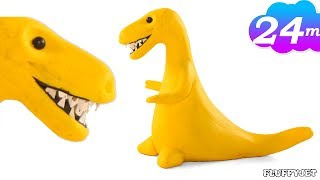 Video T-REX DINOSAUR Animation - Make Tyrannosarus Rex -dinosaur cartoon MP3, 3GP, MP4, WEBM, AVI, FLV Oktober 2018