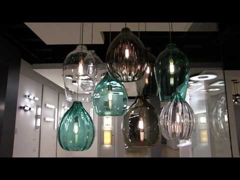Video for Harper Satin Nickel One-Light Pendant with Clear Shade and Satin Nickel Stem