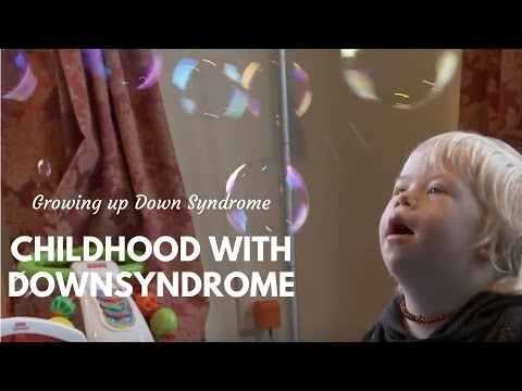 Watch video Childhood with Down Syndrome