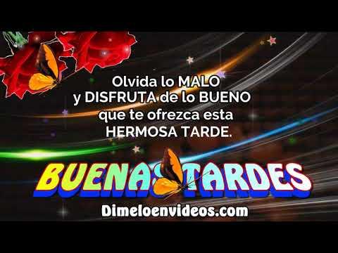 Tarjetas de amor - Muy Buenas Tardes - Muchas Bendiciones..!!