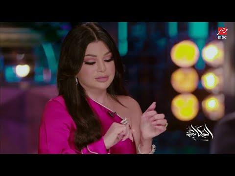 عمرو أديب يبدي إعجابه بخاتم هيفاء وهبي