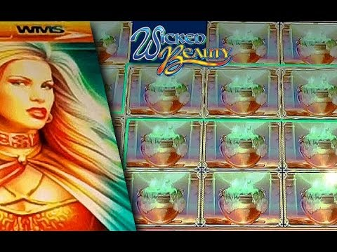 BIG WIN! – WMS – Wicked Beauty – Slot Machine Bonus