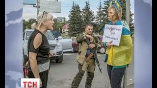 Українська патріотка Ірина Довгань, яку катували у Донецьку