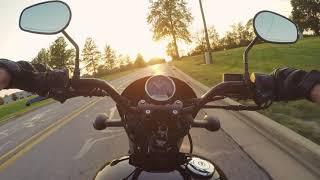 5. Harley Street 500 // My First Motorcycle // Street XG500 Ride Around The Block
