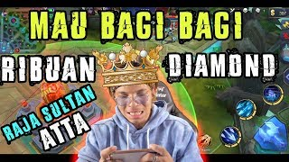 Video ATTA ML! Jadi Sultan Raja! Bagi Bagi Ribuan Diamond! siap siap MP3, 3GP, MP4, WEBM, AVI, FLV Januari 2018