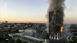 UK correspondent Catherine Drew is in London with the latest on the fire at Grenfell Tower.