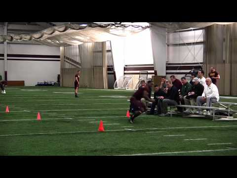 Jake Olson 2014 Pro Day video.