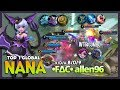 """Graveyard Party """"All of You are Just My Little Cat"""" •F∆C• allen96 Top 1 Global Nana ~ Mobile Legends"""