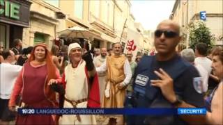 Aigues-Mortes France  city photo : FÊTE DE LA SAINT LOUIS 2016 AIGUES MORTES REPORTAGE FRANCE 3
