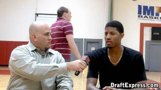 DraftExpress Exclusive: Paul George Pre-Draft Interview & Workout Footage