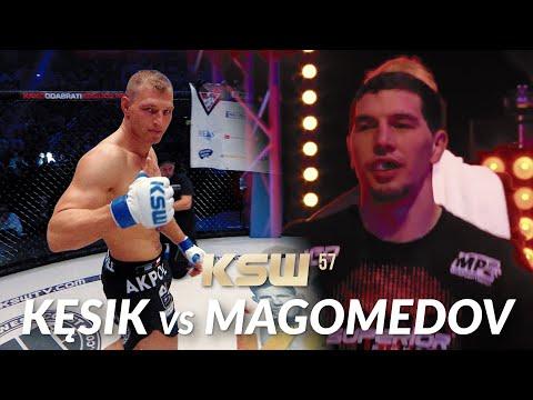 KSW 57: Cezary Kęsik vs Abus Magomedov
