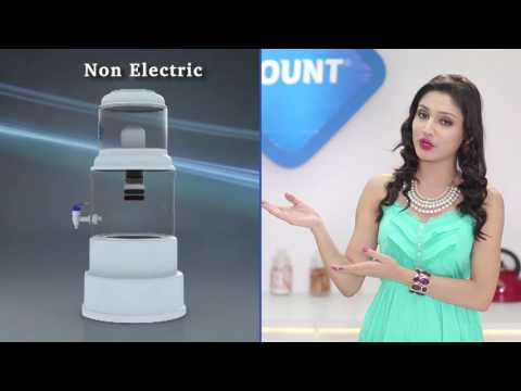 Blue mount Gravity Mineral Magna advanced water purifier