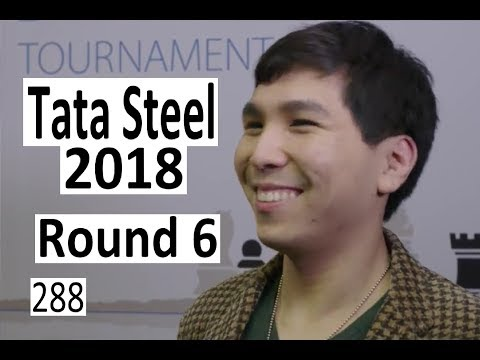 Tata Steel 2018 Round 6: Wesley So Found Some Tricks!