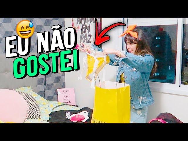 GANHEI MAIS DE R$ 1MIL REAIS EM ROUPA - Taciele Alcolea