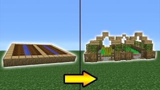Minecraft Tutorial: How To Transform a Village Farm