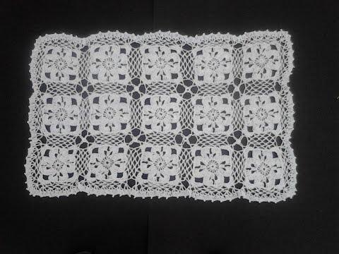 Carpetitas de crochet en hojas - Imagui
