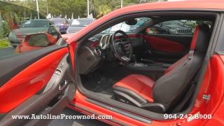 Autoline Preowned 2010 Chevrolet Camaro SS For Sale Used Walk Around Review Test Drive Jacksonville