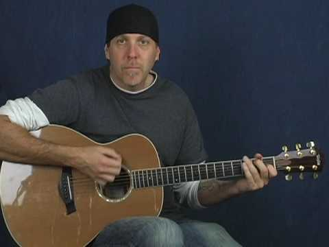 Acoustic 12 bar blues beginner guitar lesson learn to play easy and fun