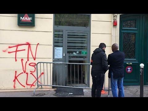 Εμπρηστική επίθεση στο αρχηγείο της Λεπέν