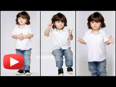 AbRam Khan's Cutest Birthday Photoshoot