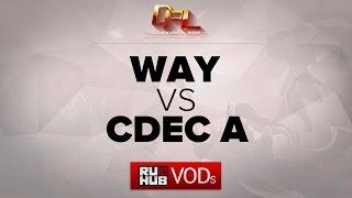 CDEC.A vs WAY, game 1
