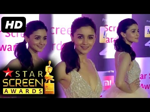Alia Bhatt At Star Screen Awards 2018 | Red Carpet