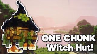 Minecraft: Witch Hut in ONE CHUNK! [Tutorial]