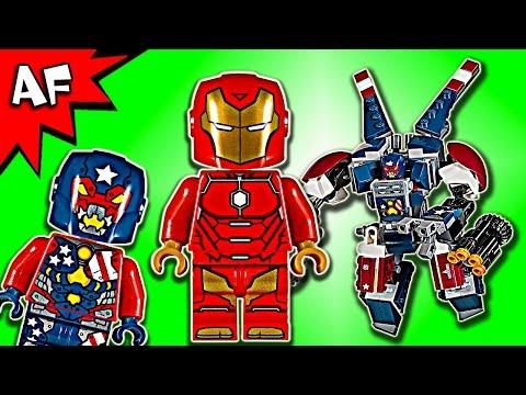 Vidéo LEGO Marvel Super Heroes 76077 : Iron Man : L'attaque de Detroit Steel