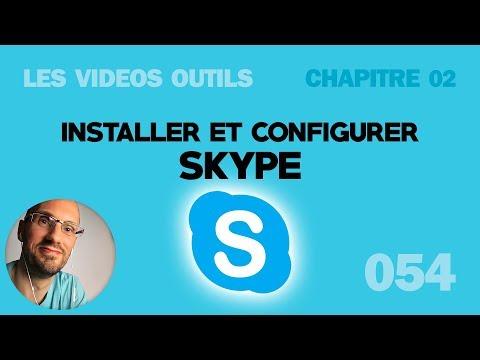 Installer et configurer correctement Skype pour Windows 7 et Windows 10