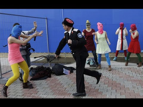 Pussy Riot Whipped by Police at Sochi